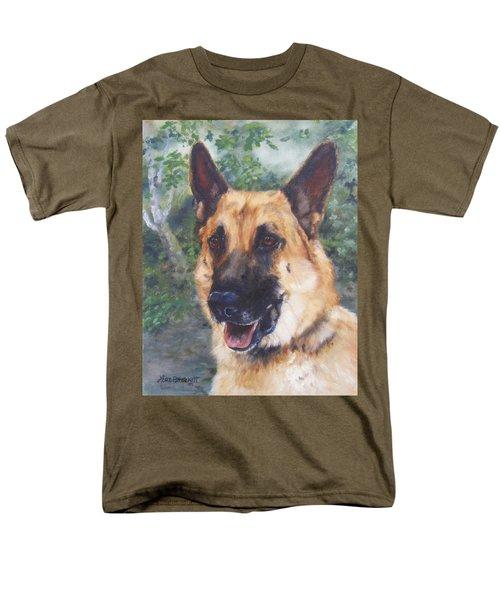 Men's T-Shirt  (Regular Fit) featuring the painting Shep by Lori Brackett