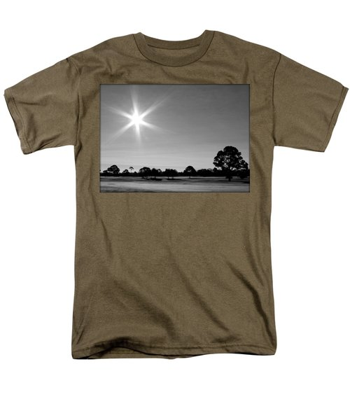 Men's T-Shirt  (Regular Fit) featuring the photograph Shine And Rise by Faith Williams
