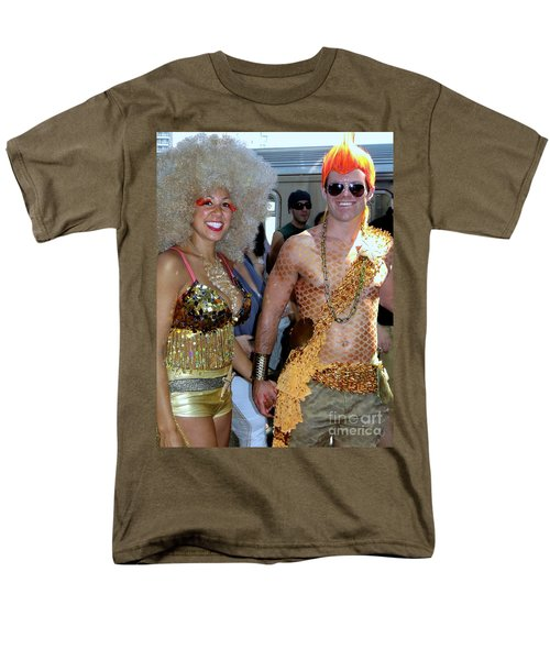Men's T-Shirt  (Regular Fit) featuring the photograph Shiny Happy People by Ed Weidman