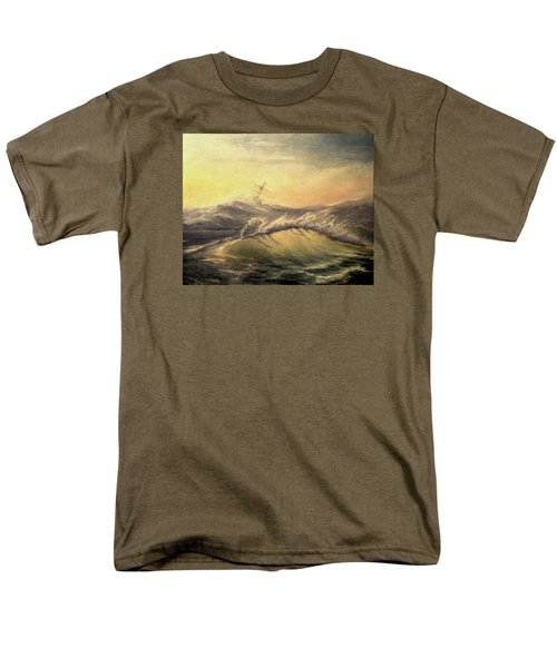 Shivering Beauty Of Storm Men's T-Shirt  (Regular Fit) by Mikhail Savchenko