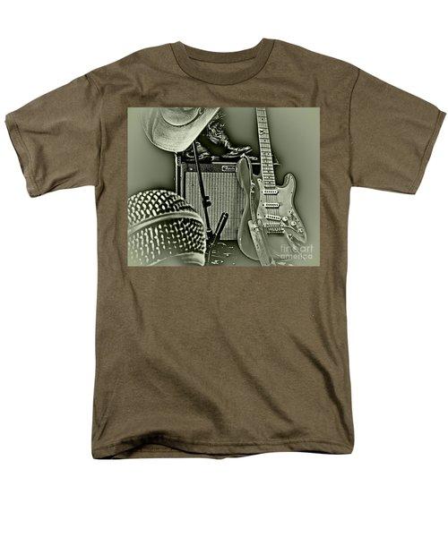 Show's Over - B W Men's T-Shirt  (Regular Fit) by Robert Frederick