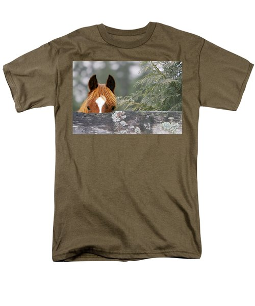 Shyness Men's T-Shirt  (Regular Fit) by Michelle Twohig
