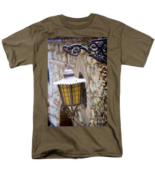 Sicilian Village Lamp Men's T-Shirt  (Regular Fit) by David Smith