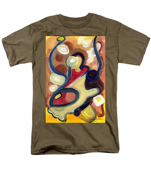 Men's T-Shirt  (Regular Fit) featuring the painting Simple Beauty by Stephen Lucas