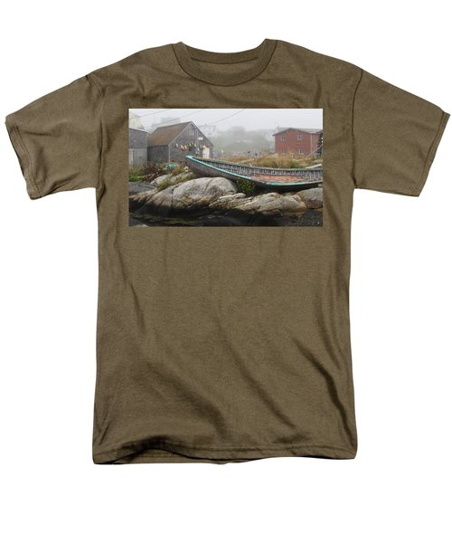 Men's T-Shirt  (Regular Fit) featuring the photograph Skeleton Ashore by Jennifer Wheatley Wolf