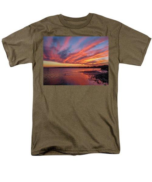 Sky On Fire Men's T-Shirt  (Regular Fit) by Jane Luxton