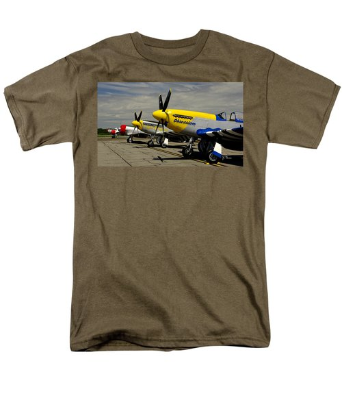 Men's T-Shirt  (Regular Fit) featuring the photograph Sky The Limit  by James C Thomas
