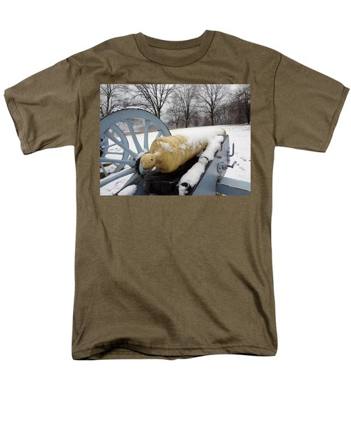 Snow Cannon Men's T-Shirt  (Regular Fit) by Michael Porchik