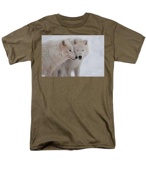 Men's T-Shirt  (Regular Fit) featuring the photograph Snuggle Buddies by Bianca Nadeau
