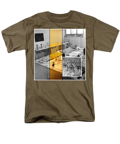 Men's T-Shirt  (Regular Fit) featuring the photograph Sogno Nel Presente Part One by Sir Josef - Social Critic - ART