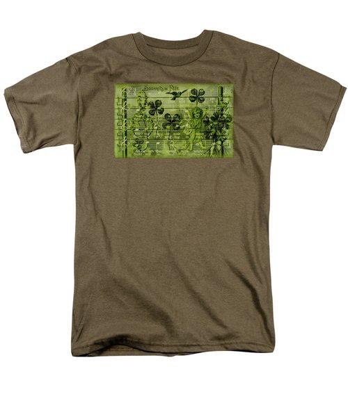 Men's T-Shirt  (Regular Fit) featuring the digital art Souhaits De Fete by Sandra Foster