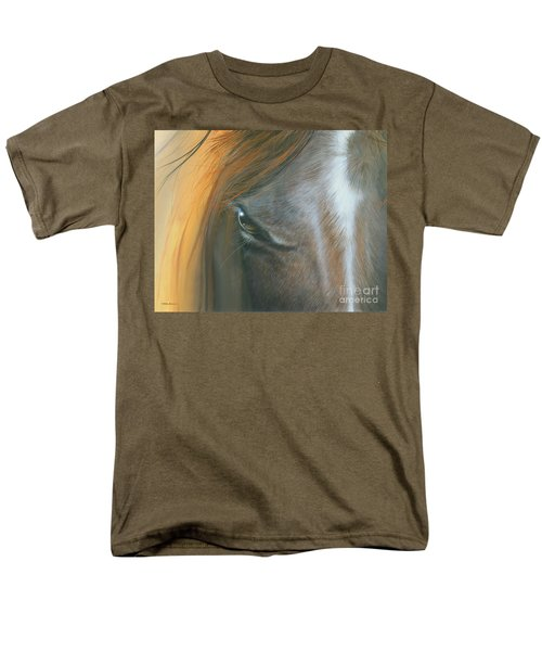 Men's T-Shirt  (Regular Fit) featuring the painting Soul Within by Mike Brown