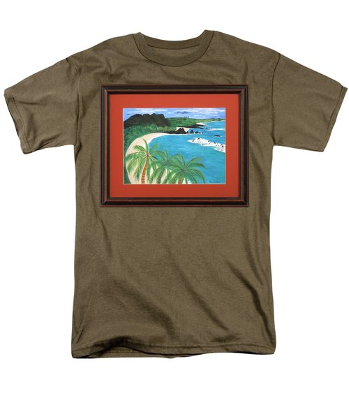 Men's T-Shirt  (Regular Fit) featuring the painting South Pacific by Ron Davidson