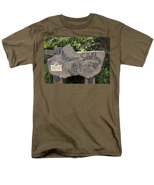 Spielberg's Ride Men's T-Shirt  (Regular Fit) by David Nicholls