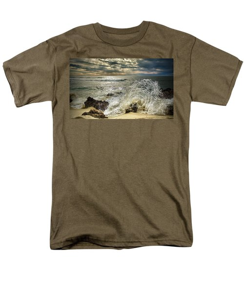 Splash N Sunrays Men's T-Shirt  (Regular Fit)