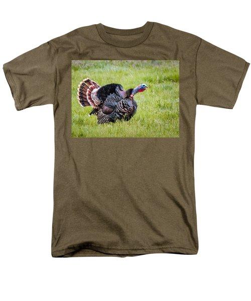 Spring Gobbler Men's T-Shirt  (Regular Fit)
