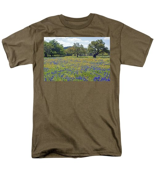 Spring In The Texas Hill Country Men's T-Shirt  (Regular Fit) by Gary Holmes