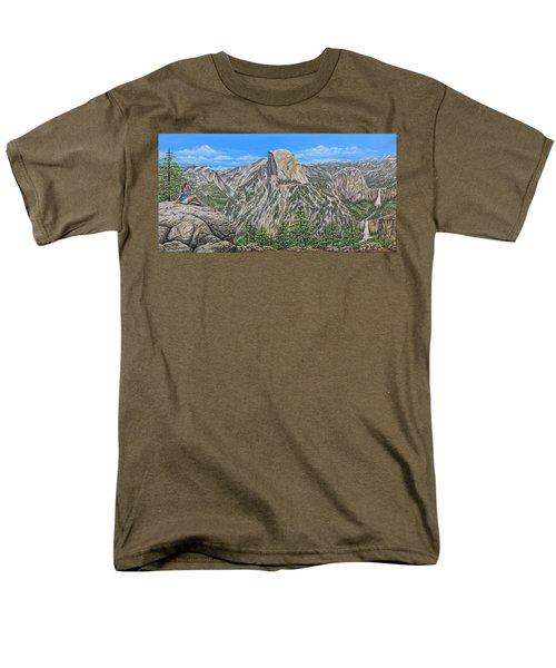 Springtime In Yosemite Valley Men's T-Shirt  (Regular Fit)