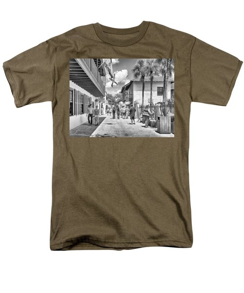 Men's T-Shirt  (Regular Fit) featuring the photograph St. Geroge Street by Howard Salmon