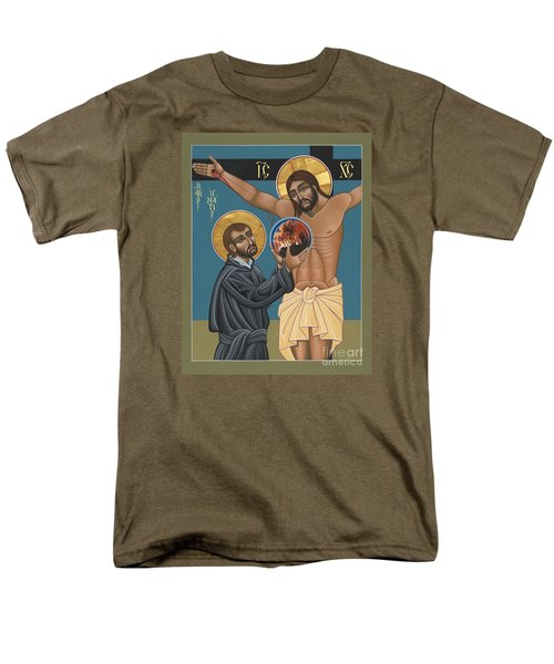 St. Ignatius And The Passion Of The World In The 21st Century 194 Men's T-Shirt  (Regular Fit) by William Hart McNichols