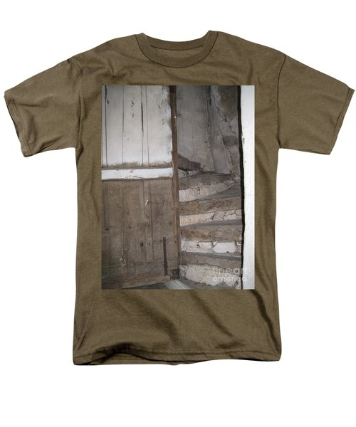 Men's T-Shirt  (Regular Fit) featuring the photograph Staircase by HEVi FineArt