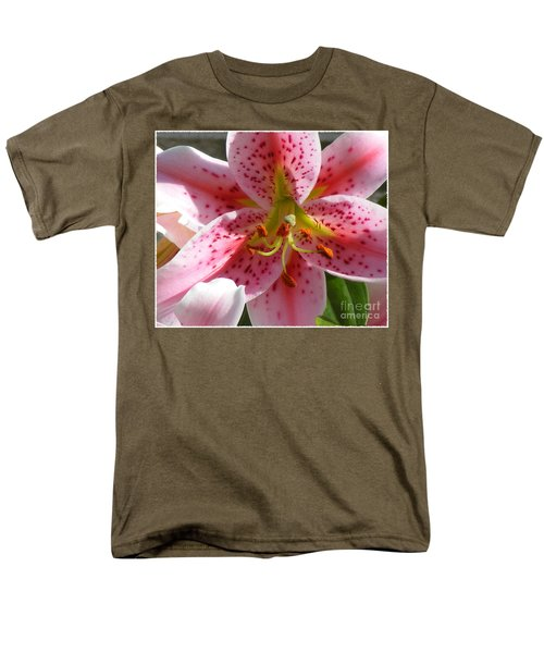 Stargazer Lily Men's T-Shirt  (Regular Fit) by Barbara Griffin