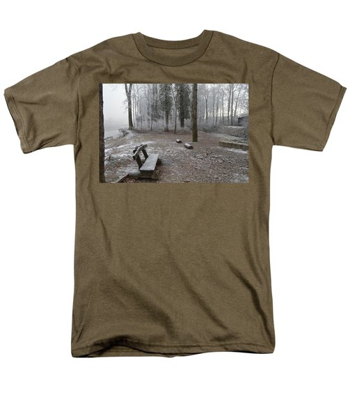 Men's T-Shirt  (Regular Fit) featuring the photograph Steep And Frost - 3 by Felicia Tica