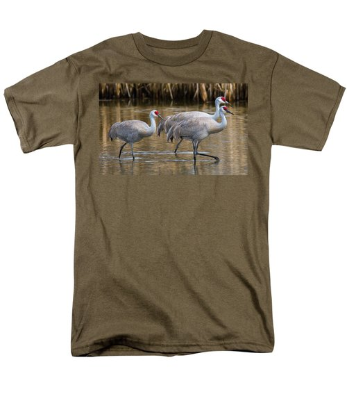Steppin Out Men's T-Shirt  (Regular Fit) by Randy Hall