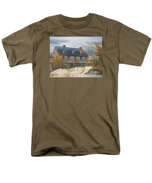 Stevens House Men's T-Shirt  (Regular Fit) by Barbara Barber