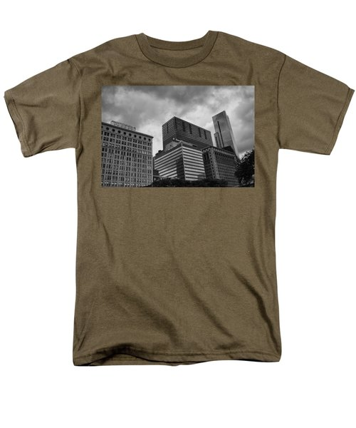 Stormy Skies Men's T-Shirt  (Regular Fit) by Miguel Winterpacht