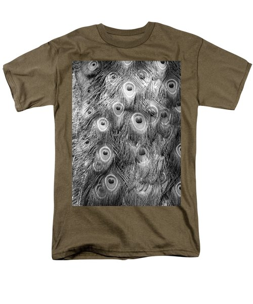 Men's T-Shirt  (Regular Fit) featuring the photograph Stream Of Eyes - Black And White by Diane Alexander