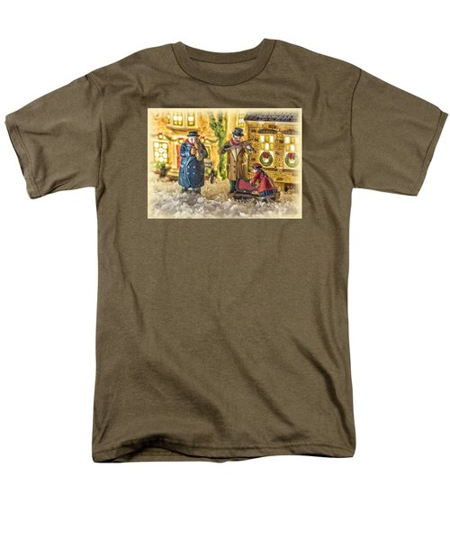 Street Musicians Men's T-Shirt  (Regular Fit) by Caitlyn  Grasso