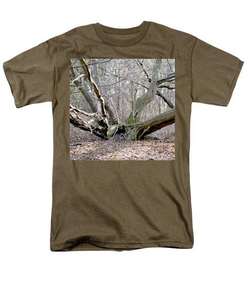 Struck By Lightning - Grafical Men's T-Shirt  (Regular Fit) by Tine Nordbred