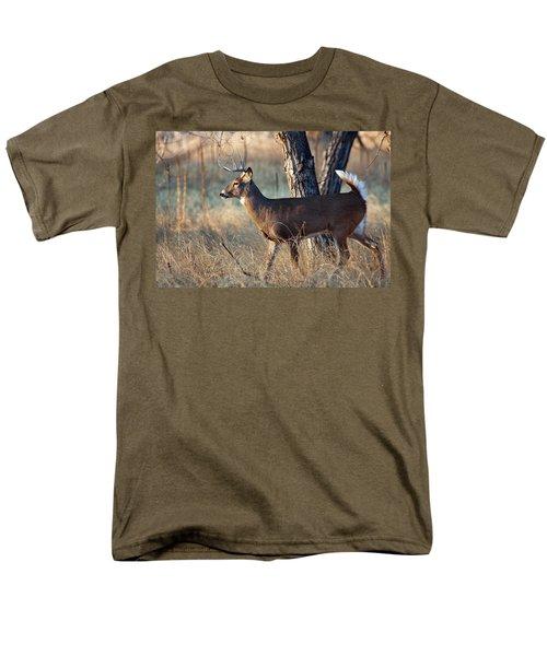 Men's T-Shirt  (Regular Fit) featuring the photograph Strutting Buck by Jim Garrison