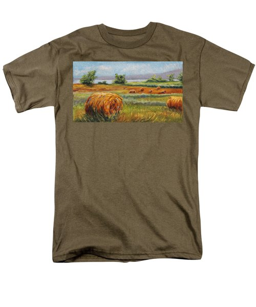 Summer Bales Men's T-Shirt  (Regular Fit) by Meaghan Troup