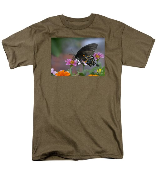 Men's T-Shirt  (Regular Fit) featuring the photograph Summer Garden by Nava Thompson