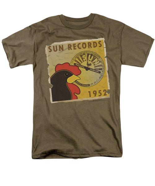 Sun - Distrsd Rooster Poster 1952 Men's T-Shirt  (Regular Fit) by Brand A