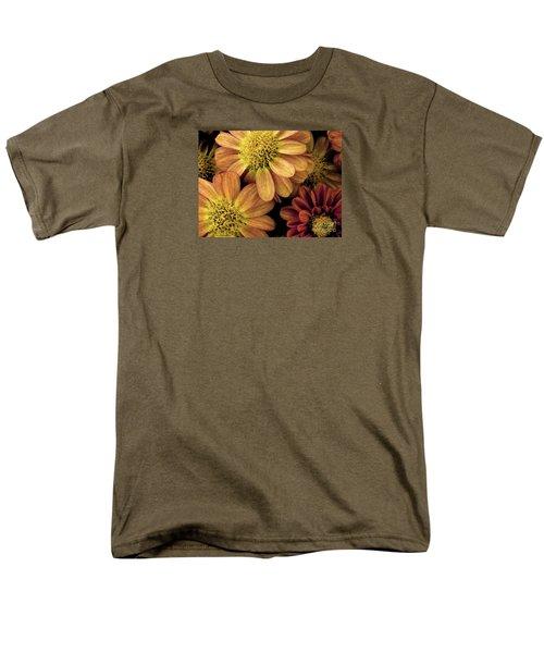 Men's T-Shirt  (Regular Fit) featuring the photograph Sun Fans by Jean OKeeffe Macro Abundance Art