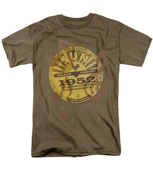 Sun - Logo Music Men's T-Shirt  (Regular Fit) by Brand A