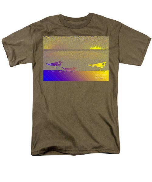 Sunbird Men's T-Shirt  (Regular Fit) by Ecinja Art Works