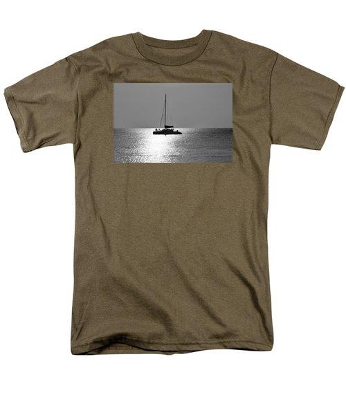 Sundown Sail Men's T-Shirt  (Regular Fit) by Amar Sheow