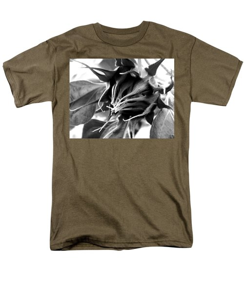 Men's T-Shirt  (Regular Fit) featuring the photograph Sunflower Beginning by Sandi OReilly