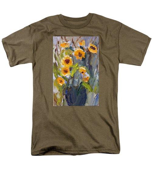Sunflower Bouquet Men's T-Shirt  (Regular Fit)