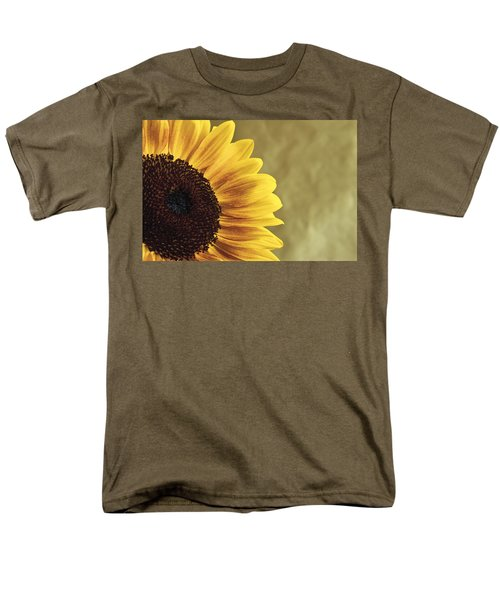Men's T-Shirt  (Regular Fit) featuring the photograph Sunflower by Lana Enderle