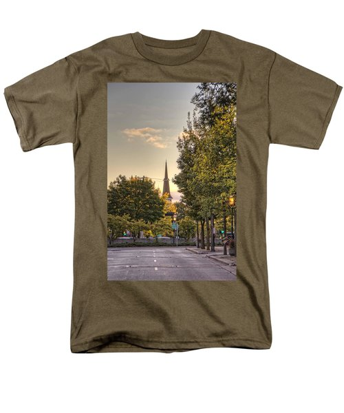 Sunrise At The End Of The Street Men's T-Shirt  (Regular Fit) by Daniel Sheldon