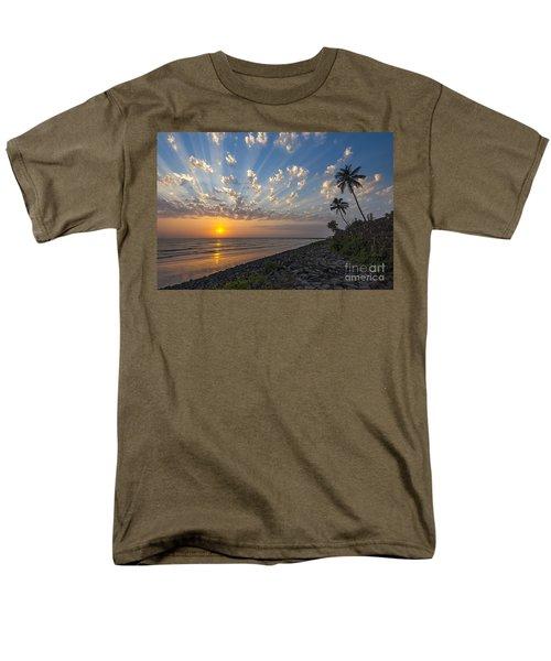 Sunset At Alibag, Alibag, 2007 Men's T-Shirt  (Regular Fit) by Hitendra SINKAR