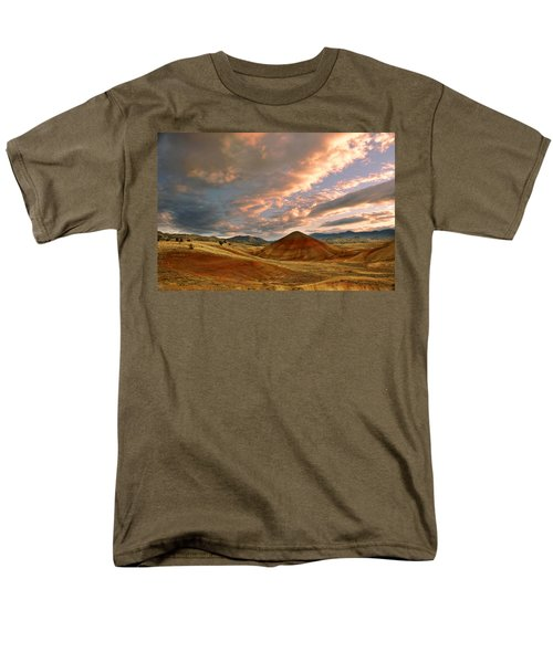 Sunset Hill Men's T-Shirt  (Regular Fit) by Sonya Lang