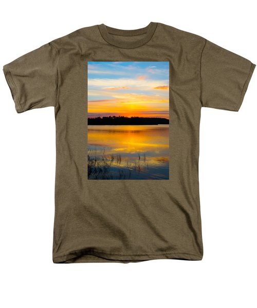Sunset Over The Lake Men's T-Shirt  (Regular Fit) by Parker Cunningham