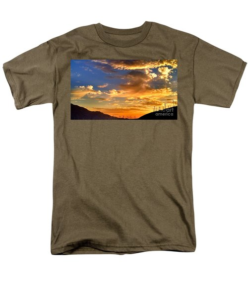 Sunset Over The Pass Men's T-Shirt  (Regular Fit)