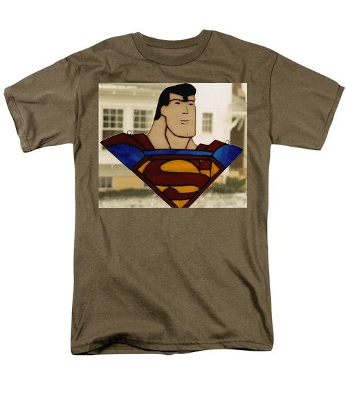 Superman Panel Men's T-Shirt  (Regular Fit) by Karin Thue